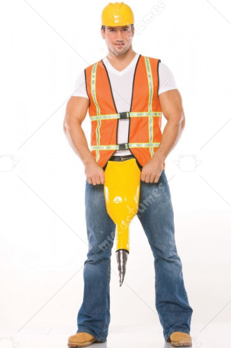Jack Hammer Adult Costume
