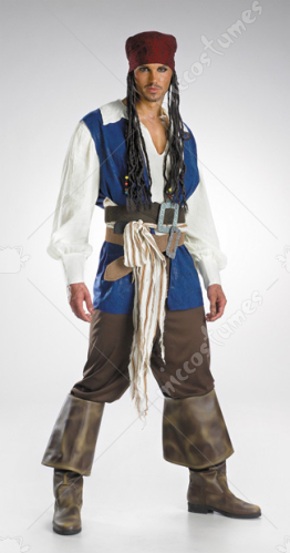 Jack Sparrow Quality Adult Costume