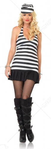 Jailgirl Adult Costume