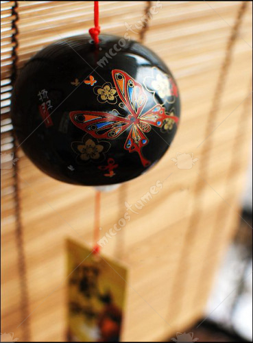 Japanese Ceramic Wind Chime Butterfly