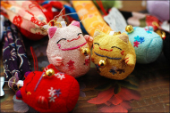 Japanese Cute Fortune Cat Phone Chain