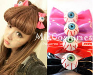 Japanese Eye Balls Hair Clip