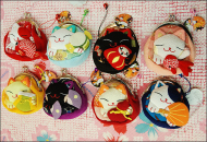 Japanese Fortune Cat Coin Purse