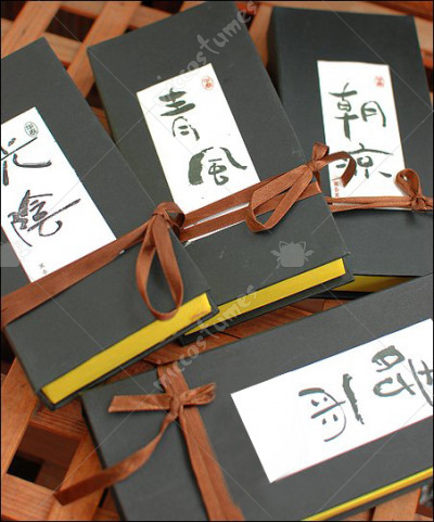 Japanese Incense Gift Box with Incense Stand