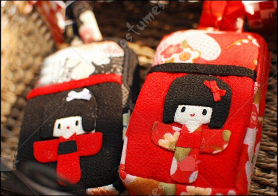 Japanese Kimono Girl Camera Bag