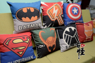 Marvel's Superhero Pillow Seven Patterns