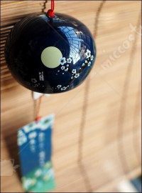 Japanese Ceramic Wind Chime Plum Blossom