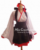 Japanese Witch Maid Costume