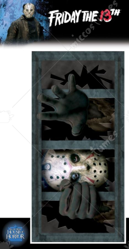 Jason Wall Window Decal