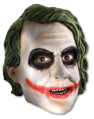 Joker 3 4 Vinyl Child Mask