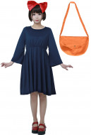 Kikis Delivery Service Halloween Cosplay Costume Witch Dress