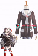 Kantai Collection Amatsukaze Cosplay Costume