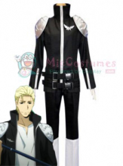 Katekyo Hitman Reborn! Black Spell Uniform Cosplay Costume