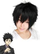 Katekyo Hitman Reborn Hibari Kyoya 10years Cosplay Wig