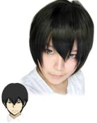 Katekyo Hitman Reborn Hibari Kyoya Cosplay Wig