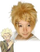 Katekyo Hitman Reborn Joushima Ken Cosplay Wig