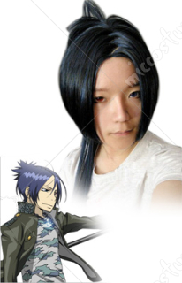 Katekyo Hitman Reborn Chrome Dokuro 10years Cosplay Wig