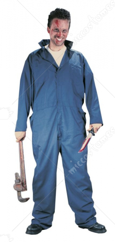 Killer Mechanic Adult Costume One Size