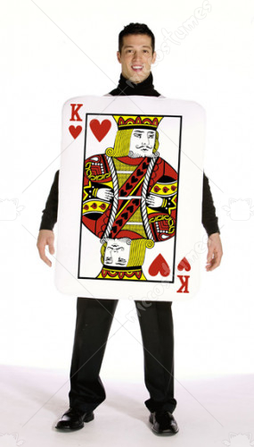 King Of Hearts Poker Adult Costume