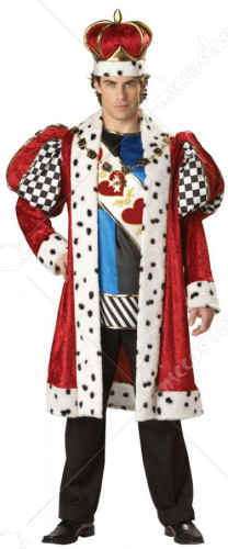King of Hearts Adult Plus Size Costume