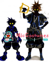 Kingdom Hearts Dark Sora Cosplay Costume