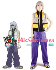 Kingdom Hearts II Riku Cosplay Costume