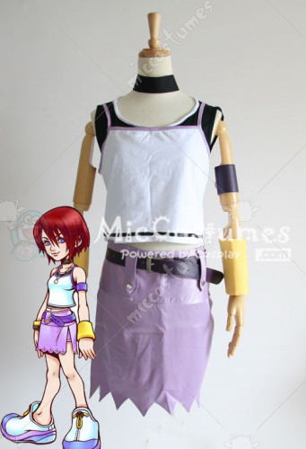 Kingdom Hearts I Kairi Cosplay Costume
