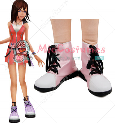 Kingdom Hearts Kairi Cosplay Shoes Boots
