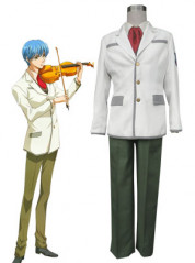 Kiniro no Corda Tsukimori Len School Uniform Cosplay Costume