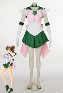 Sailor Moon Kino Makoto Sailor Jupiter Cosplay Costume SuperS Version