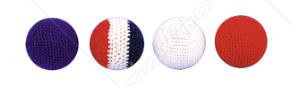 Knit 4 Ball Set Multi 1 Inch
