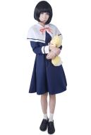 Gugure! Kokkuri-San Kohina Ichimatsu Cosplay Kostüme Winter