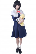 Gugure! Kokkuri-San Kohina Ichimatsu Cosplay Costume Winter Women S