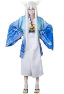 Gugure! Kokkuri-San Fox Spirit Cosplay Costume Kimono