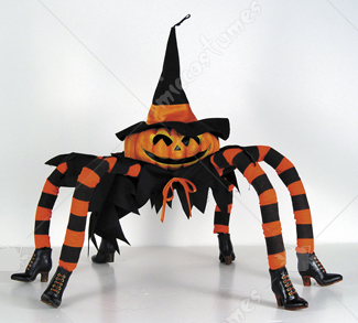 Kooky Poseable Spider Pump Wit