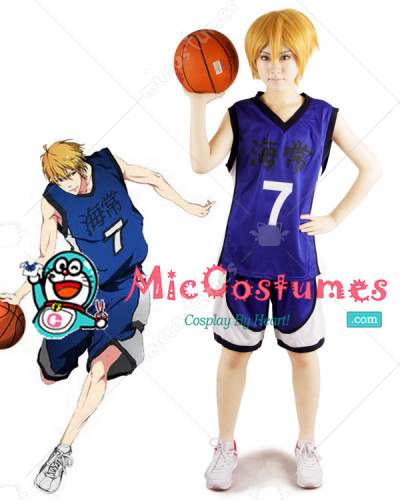 Kurokos Basketball Kise Ryota Cosplay Costume