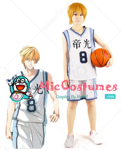 Kurokos Basketball Kise Ryota Teiko Middle School Cosplay Costume