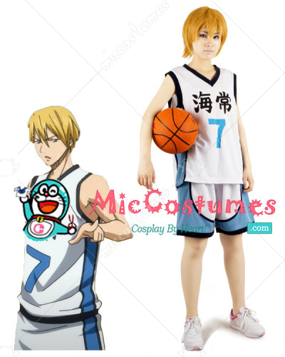 Kurokos Basketball Kise Ryota Version 3 Cosplay Costume