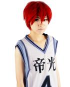 Kurokos Basketball Akashi Seijyuurou Cosplay Wig