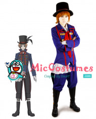 Black Butler Drocell Caines Cosplay Costume