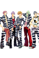Lucky Dog 1 Jail Prisoner Cosplay Costume