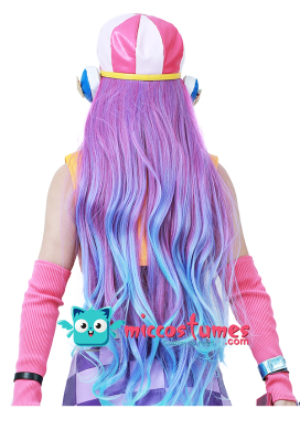 League of Legends Arcade Miss Fortune Cosplay Wig