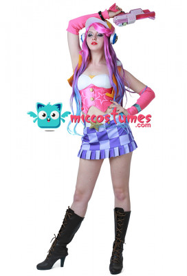 League of Legends Arcade Miss Fortune Cosplay Costume