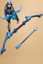 League of Legends Ashe Cosplay Bow and Arrow Neufassung