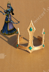 League of Legends Ashe Cosplay Headwear