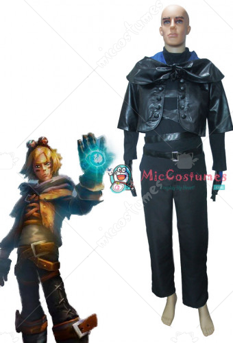 League of Legends Frosted Ezreal Cosplay Costume