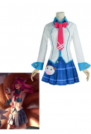 League of Legends Nine-Tailed Fox Ahri Academy Cosplay Costume