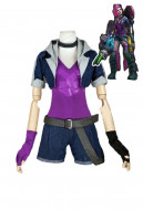 League of Legends Loose Cannon Slayer Jinx Cosplay Costume
