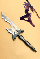 League of Legends Exile Raven Cosplay Sword