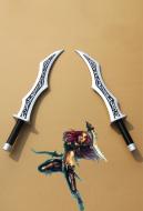 League of Legends Katarina Cosplay Swords